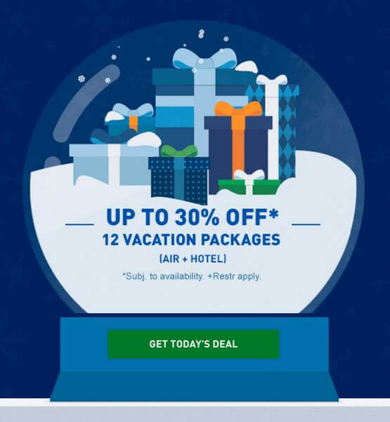 Up to 30% Off Select Last-Minute Air + Hotel Packages With JetBlue