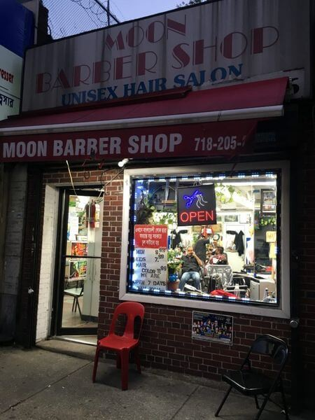 Moon Barber Shop Jackson Heights