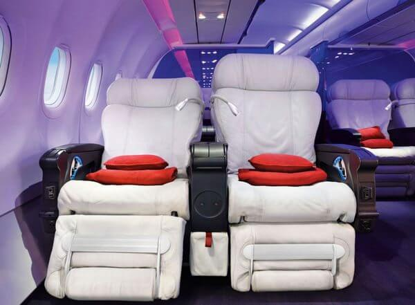Virgin America Fare Sale Premium Economy From 99 First Class From 149