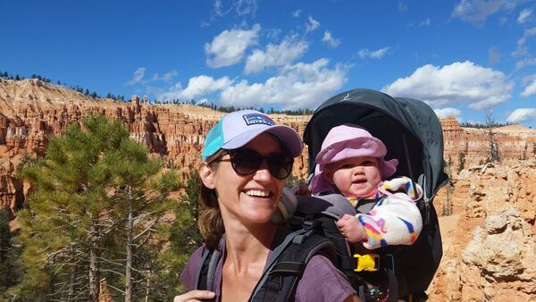 Tips for family travel & camping with a baby
