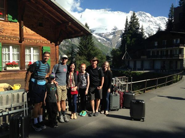 How a Family of 7 Spent 3 Weeks Hiking & Exploring Europe With Miles & Points!