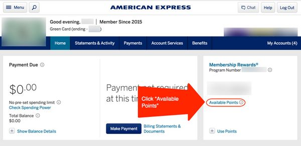 How To Transfer American Express Membership Rewards Points