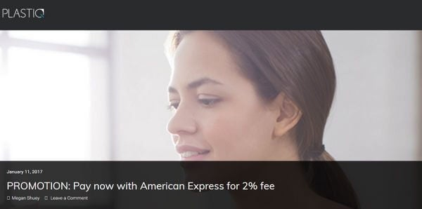 Meet Minimum Spending Plastiq Reduces Fee On AMEX Cards To 2