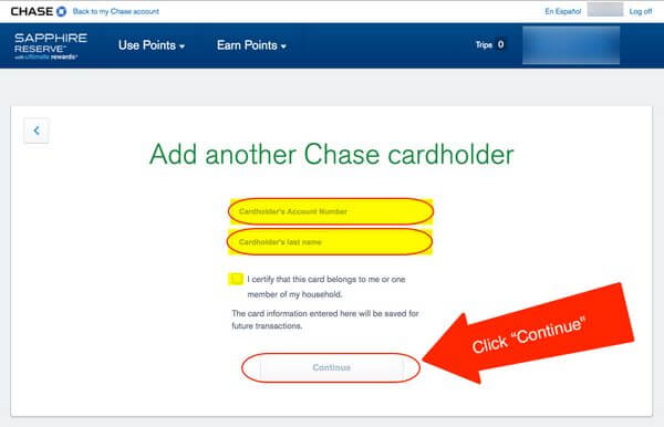 Transfer Chase Ultimate Rewards Points To Spouse