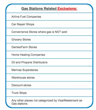 Which Gas Stations Earn The 5X Bonus With Chase Freedom
