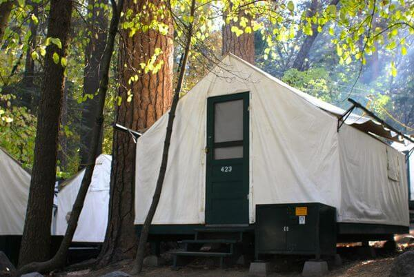 Yosemite lodging million mile secrets for Cabins in yosemite valley