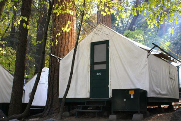 Yosemite lodging million mile secrets for Yosemite park camping cabins