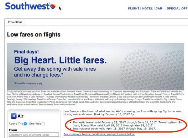 5 Tips For How To Tell When A Southwest Sale Is Worthwhile