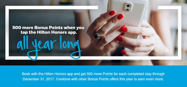 Easy 500 Extra Points per Stay for Booking Through This App!