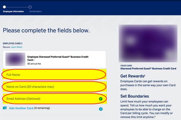 How to add authorized user to starwood amex million mile secrets how to add authorized user to starwood amex reheart Images