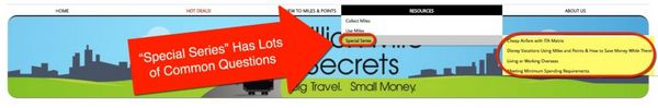 How To Get Around Million Mile Secrets