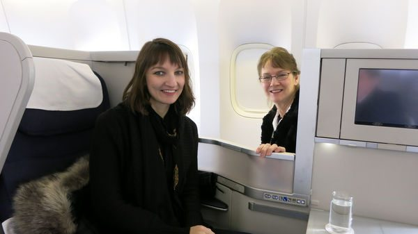 I Found My New Best Friend Traveling to London: Part 12 – Return Business Class Flight to US