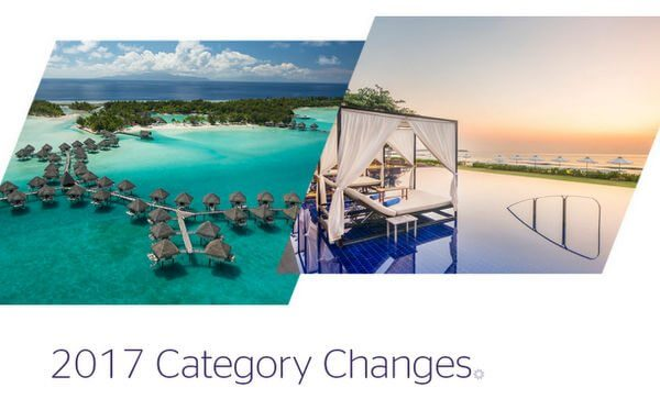 Marriott and Starwood Announce 2017 Hotel Category Changes