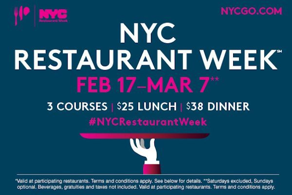 $5 Credit From AMEX for New York City Restaurant Week