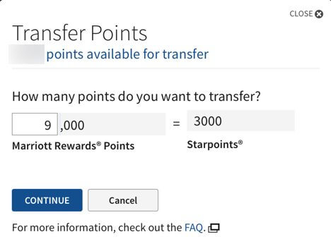 Why & How to Transfer Starwood Hotel Points Between Accounts