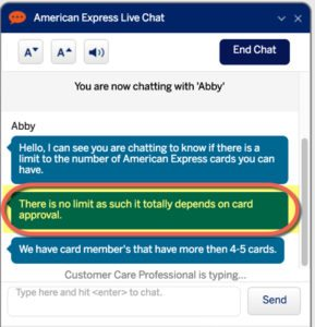 Maximum Number Of American Express Cards You Can Have