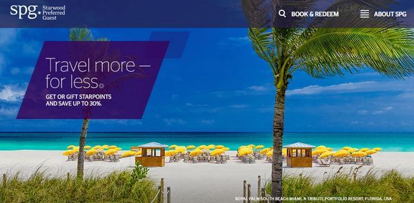Starwood Buy Points Promotion