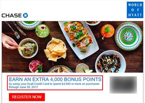 Targeted Bonus Spending Offers
