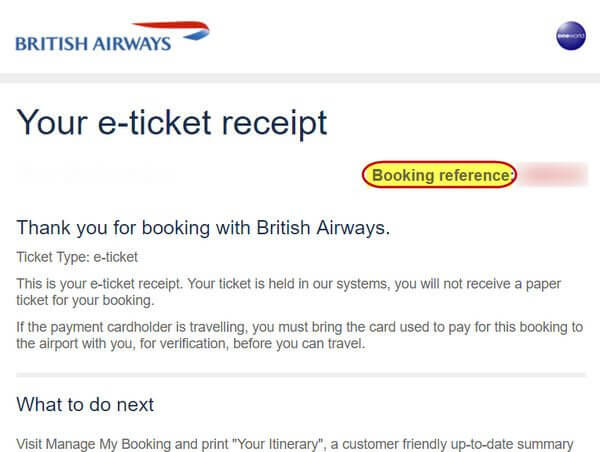 Secret to Easily Finding Your American Airlines Record Locator Through British Airways