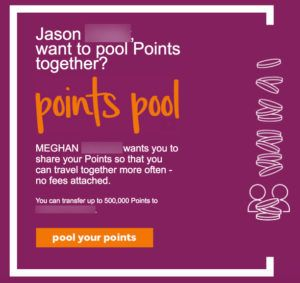 Hilton Points Pooling