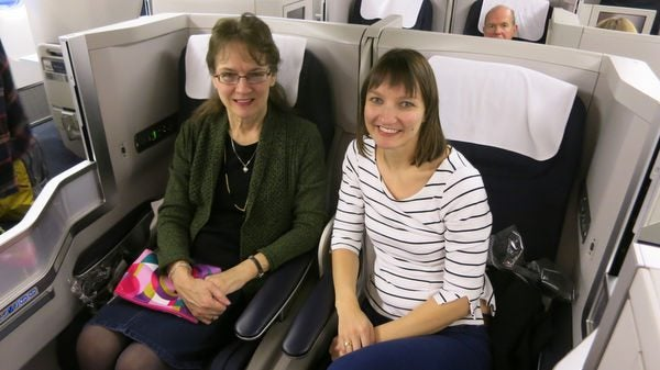 Making Mom's Paris Dreams Come True: Part 2 – She Felt Like Royalty on This Flight