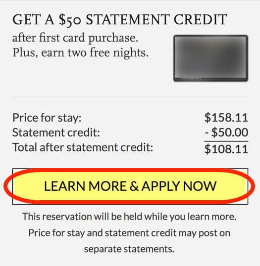 New Chase Hyatt Card Offer