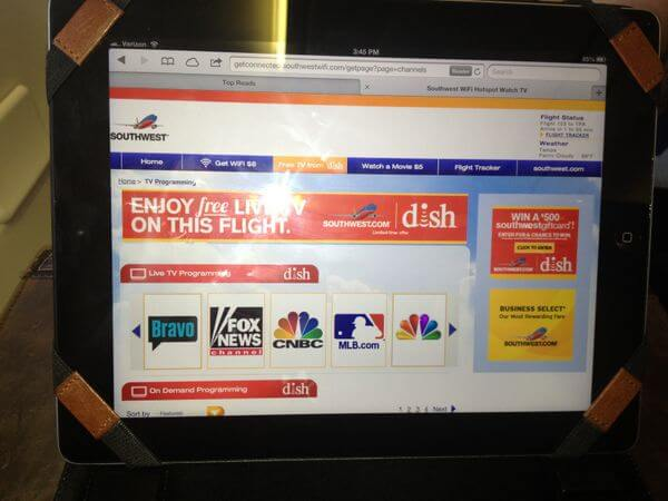 Southwest Airlines Wi Fi