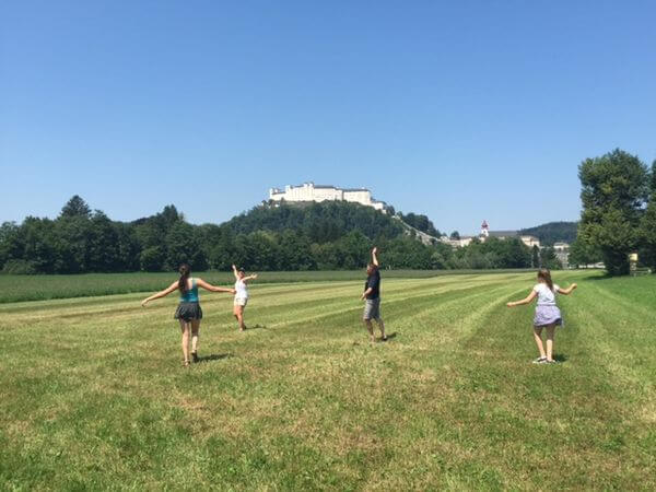 This Family Of 4 Got A 2 Week Adventure Across 6 European Countries With Miles Points