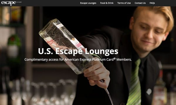 AMEX Platinum Escape Lounges