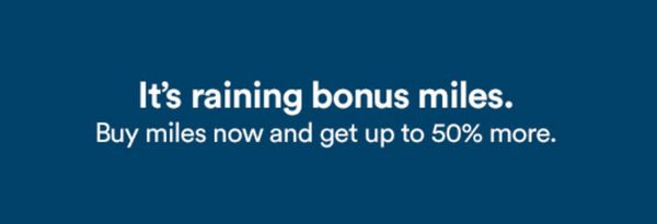 Alaska Airlines Buy Miles Bonus