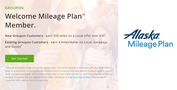 Alaska Airlines Groupon Promotion