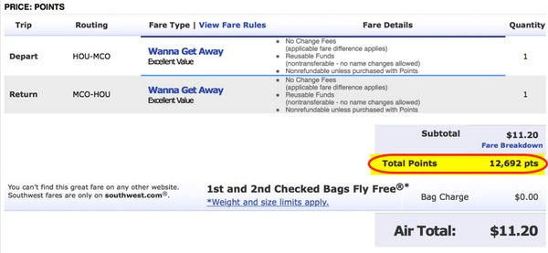 Book Airfare With Points