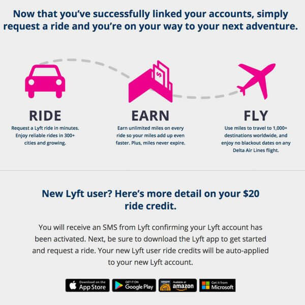 Earn Delta Miles With Lyft Million Mile Secrets