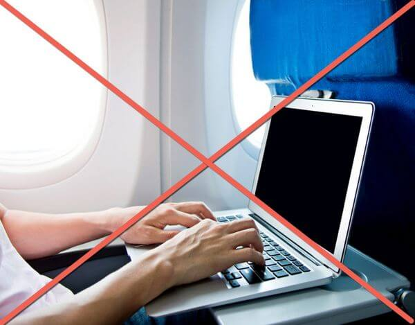 In Flight Electronics Ban Europe
