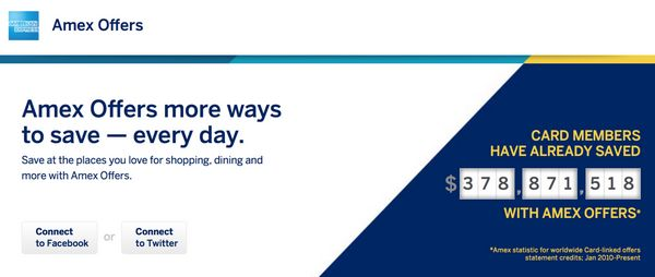 Save Money AMEX Offers