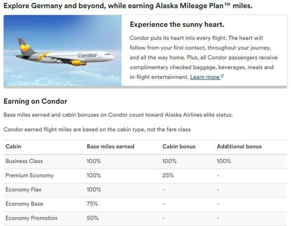 Use Miles To Fly On Condor