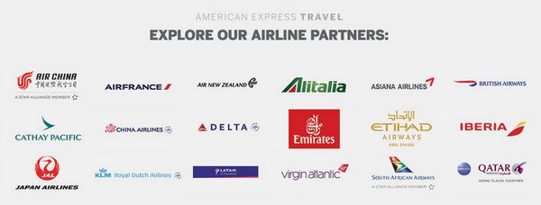 AMEX Platinum International Airline Program
