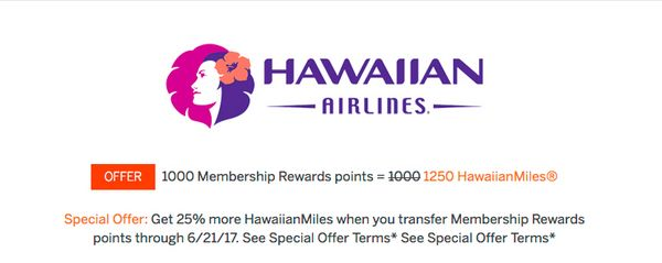 News You Can Use – Hawaiian Air Increase Virgin Atlantic Redemptions, Transfer BMI Points to British Airways, 35% Membership Rewards Transfer Bonus to Virgin Atlantic