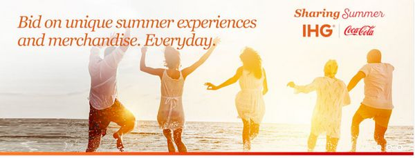 IHG Share Summer Promotion
