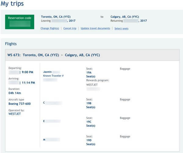 My Family Of 4 Saved 2300 Flying With Delta Miles On WestJet