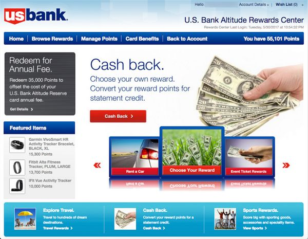 US Bank Points