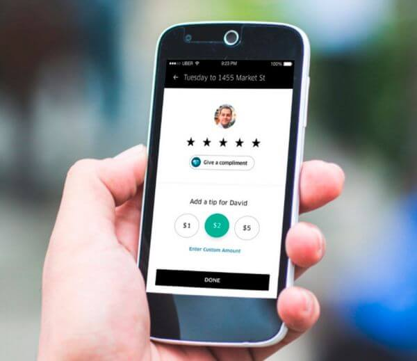 A More Convenient Way to Tip Your Uber Driver
