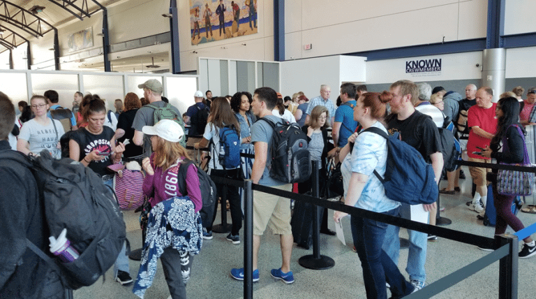 Prepare For Longer Lines At Domestic Airports