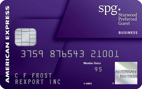 Best credit card deals today to save on travel million mile secrets starwood preferred guest business credit card from american express reheart Images