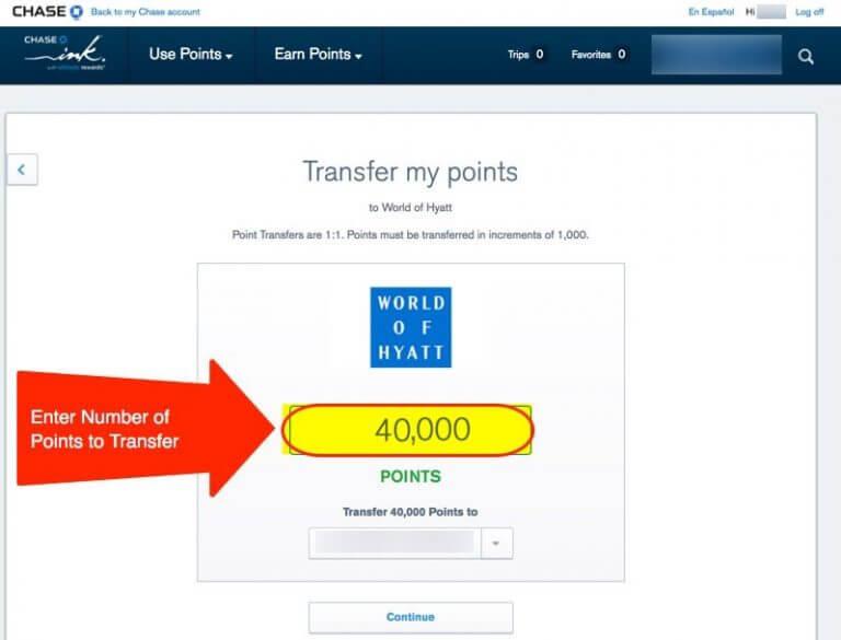 Transfer Chase Points To Hyatt