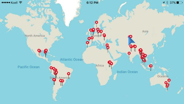 Using Points To Make A Backpacking Trip To 32 Countries Across 6 Continents More Affordable