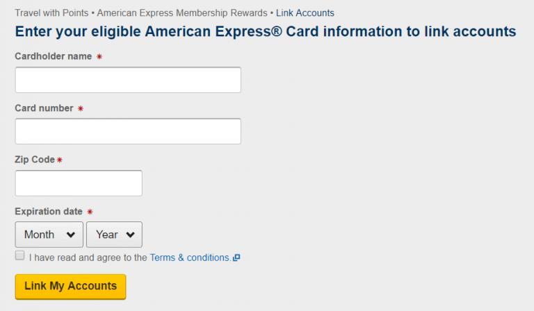 Discounted Expedia Flights Using American Express Membership Rewards Points