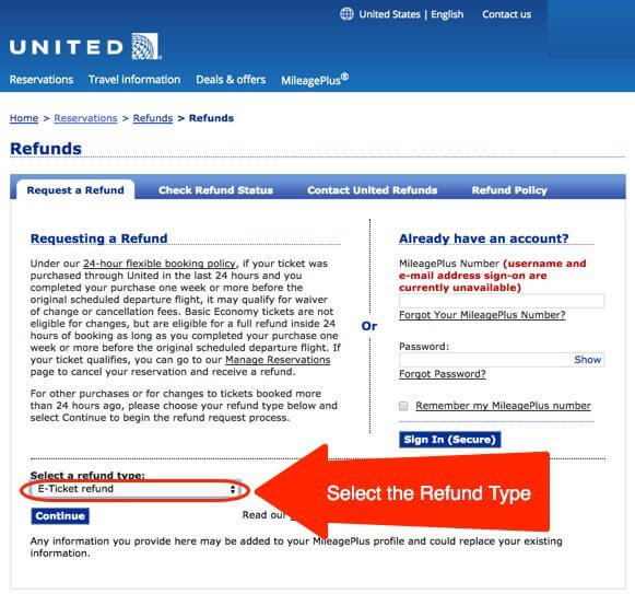 United Airlines Booking Loophole
