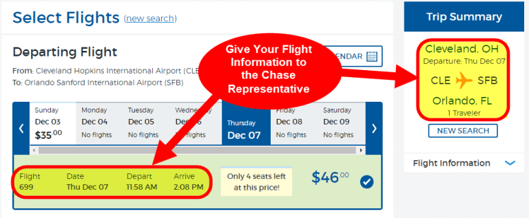 Book Flights With Chase Points