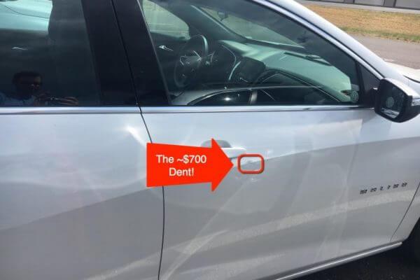 Dinged! $692 for a Tiny Rental Car Dent…How I Escaped This Outrageous Charge Thanks to Chase Sapphire Reserve Car Rental Insurance